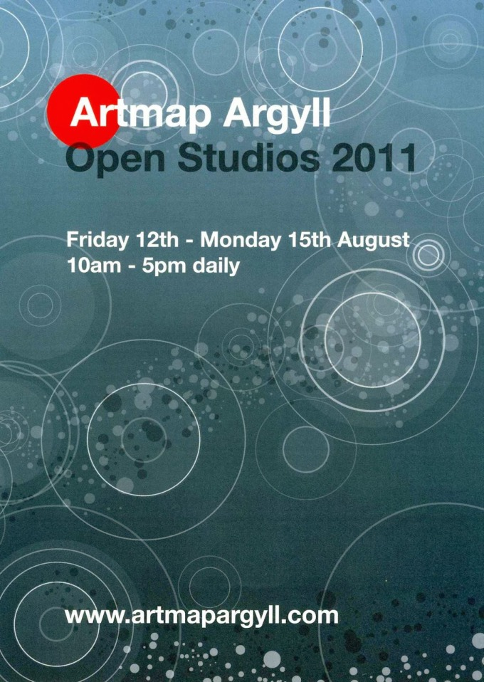 Artmap Argyll Open Studios 12th-15th August 2011