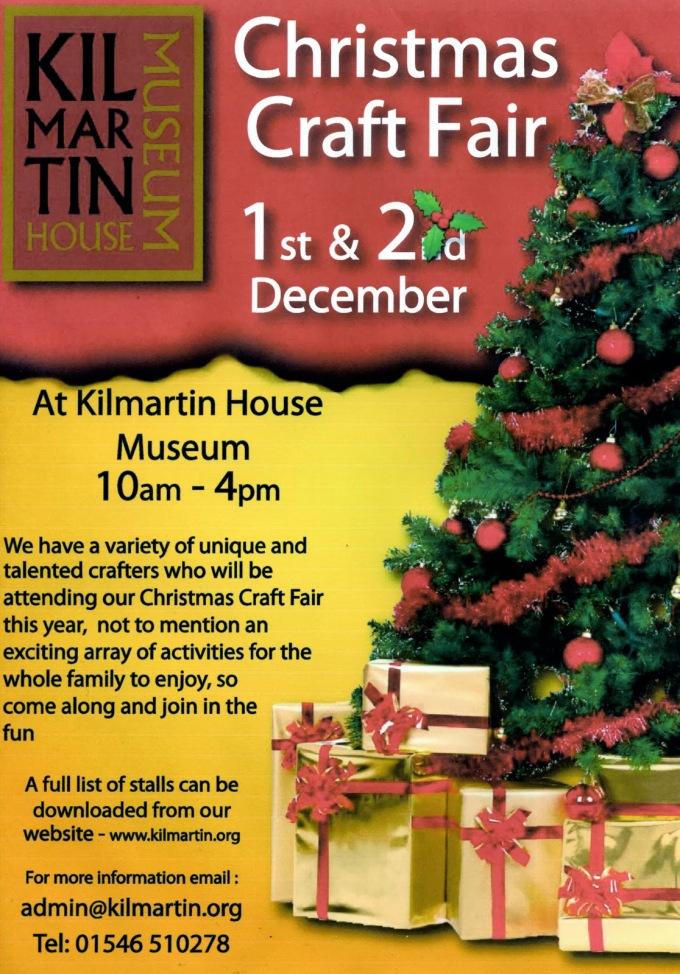 Kilmartin House Christmas Craft Fair2012