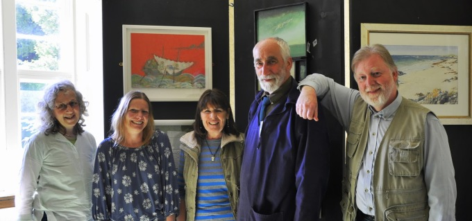 'In The Footsteps of Columba' Exhibition
