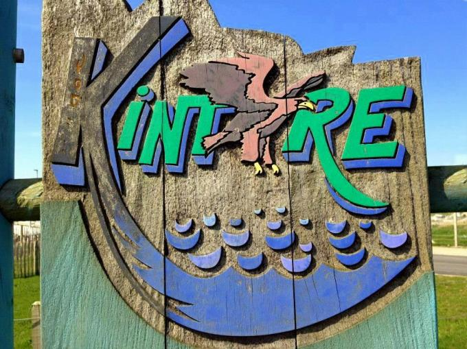 Kintyre road signs now have refreshed logo