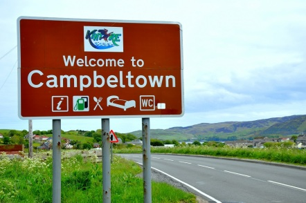 Campbeltown sign in 2013