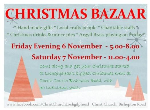 Christ Church Christmas Bazaar 2015