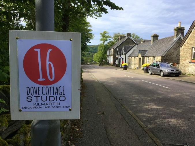 Kilmartin village sign